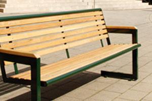 metdra: Sitzbänke Holz