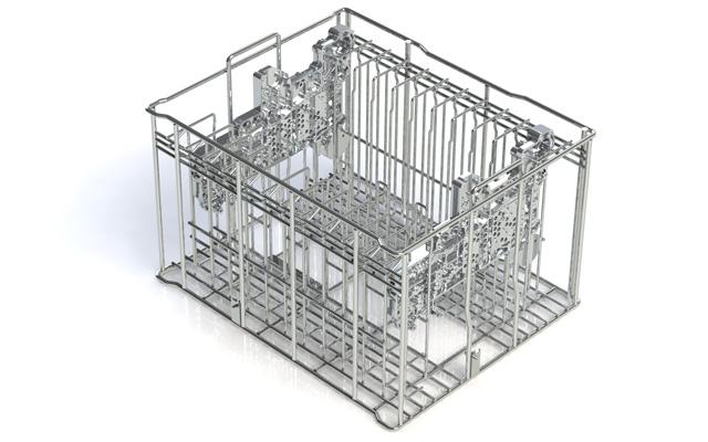 metdra drahtkorb f r kanal und schieberplatten. Black Bedroom Furniture Sets. Home Design Ideas